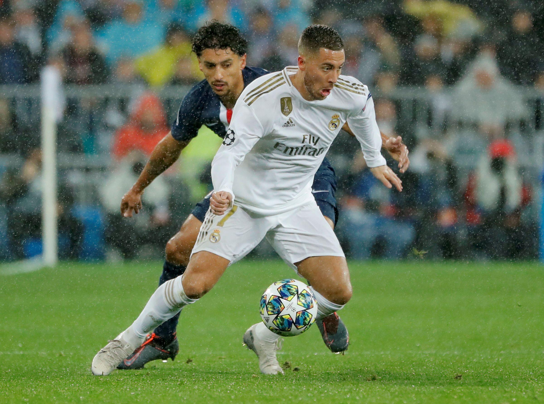 Las lesiones le han impedido a Eden Hazard obtener continuidad en el Real Madrid (Reuters)