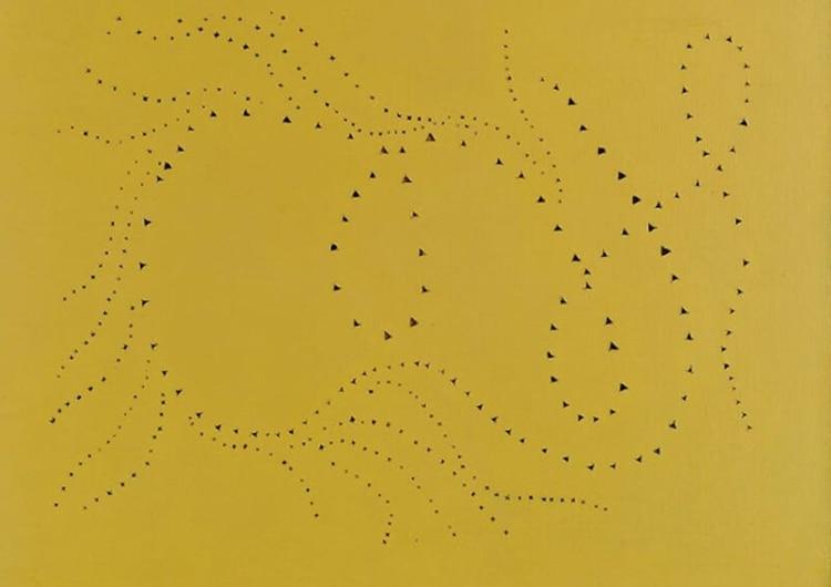 Obra de Fontana del movimiento del espacialismo