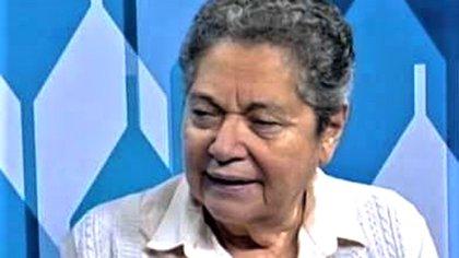 Maritza Izaguirre es socióloga, fue ministra de Finanzas, ex jefa del BID, profesora de Economía