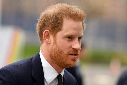 La llegada del príncipe a la cumbre (Ben STANSALL / AFP)