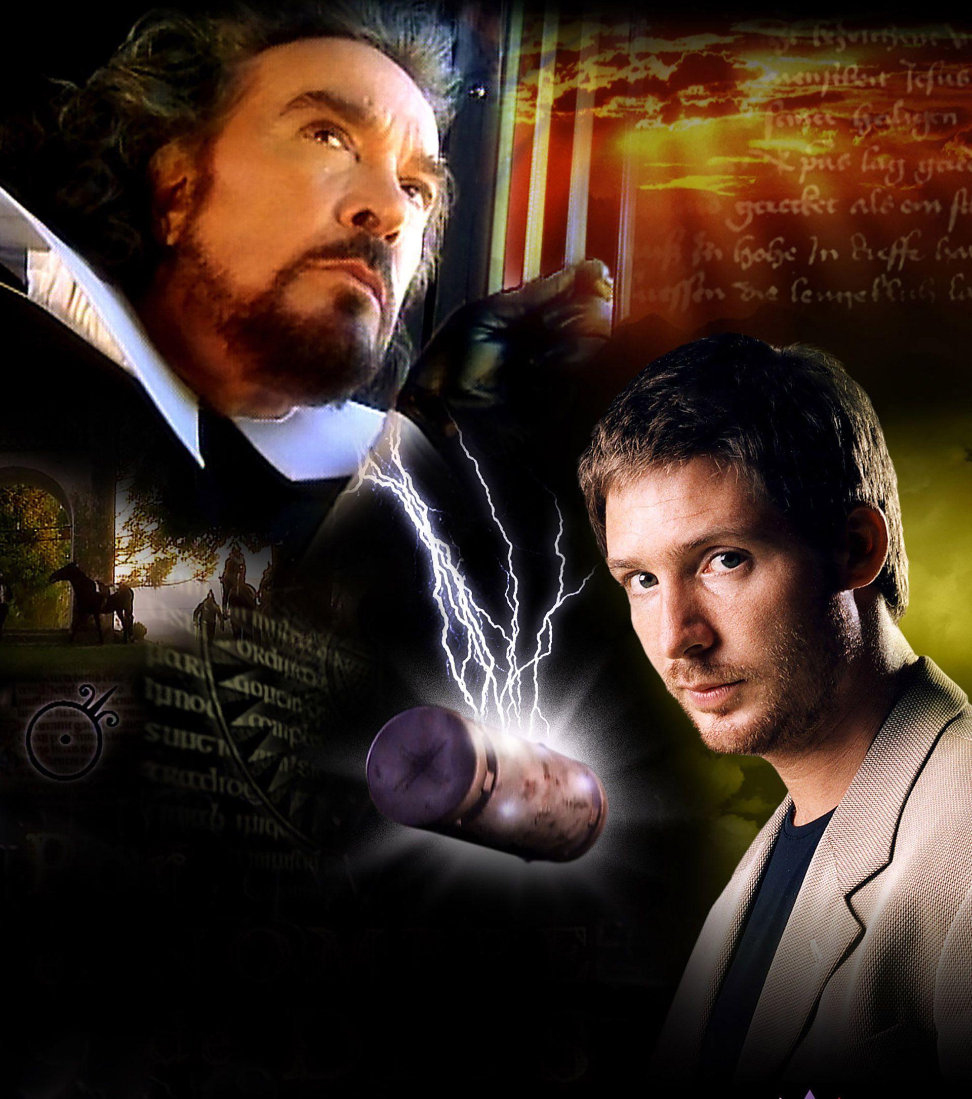 """Gráfica de """"Por el nombre de Dios"""", la miniserie que Alcón protagonizó junto a  Adrián Suar"""