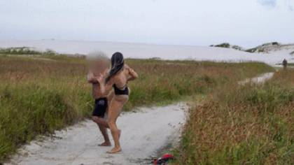la luchadora intentó dialogar pero recibió una contestación denigrante