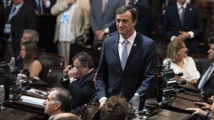El senador nacional de Juntos por el Cambio Esteban Bullrich (Adrián Escandar)