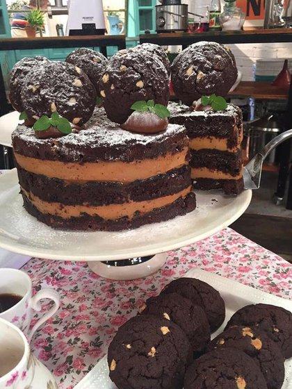 La chocotorta de Chantal Abad con cookies caseras de chocolate semiamargo (Chantal Abad)
