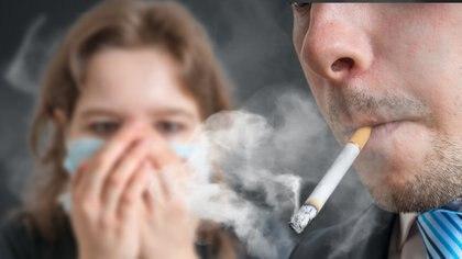 Los fumadores pasivos también están en peligro (Getty)