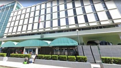 Brian Jeffrey Raymond era empleado de la embajada estadounidense en la Ciudad de México Foto: Google Maps
