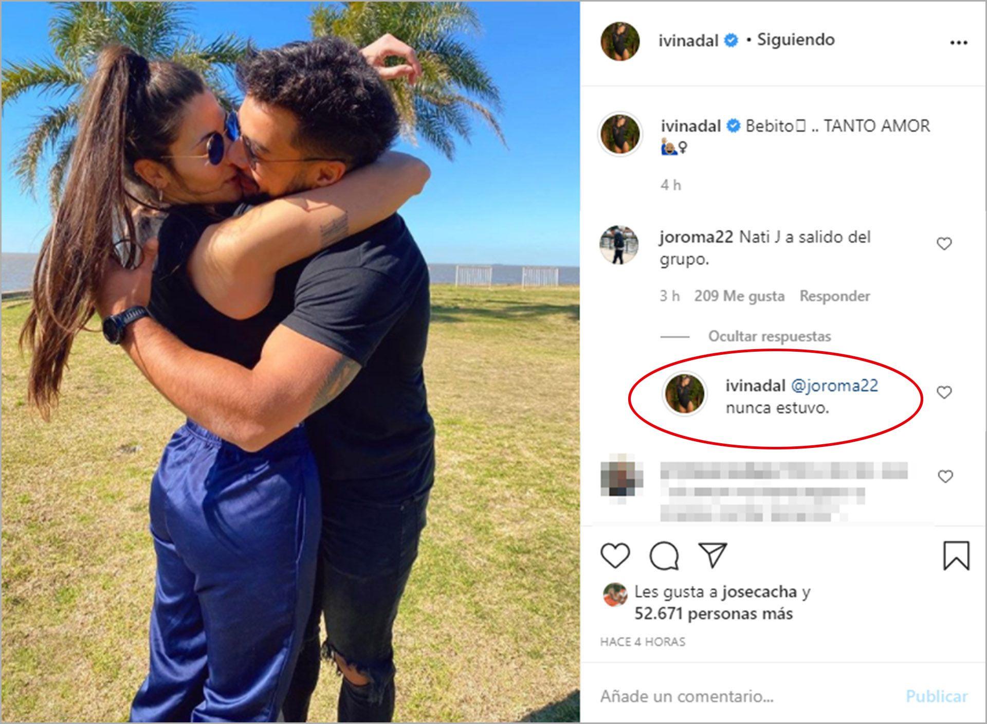 Nati Jota Bruno Siri Instagram