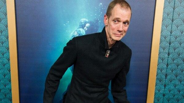 """Doug Jones durante la premiere de """"The Shape of Water"""", el 15 de noviembre pasado en Beverly Hills, California (AFP)"""