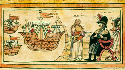 Cortés llegó a lo que hoy es México en 1519 Foto: Archivo)