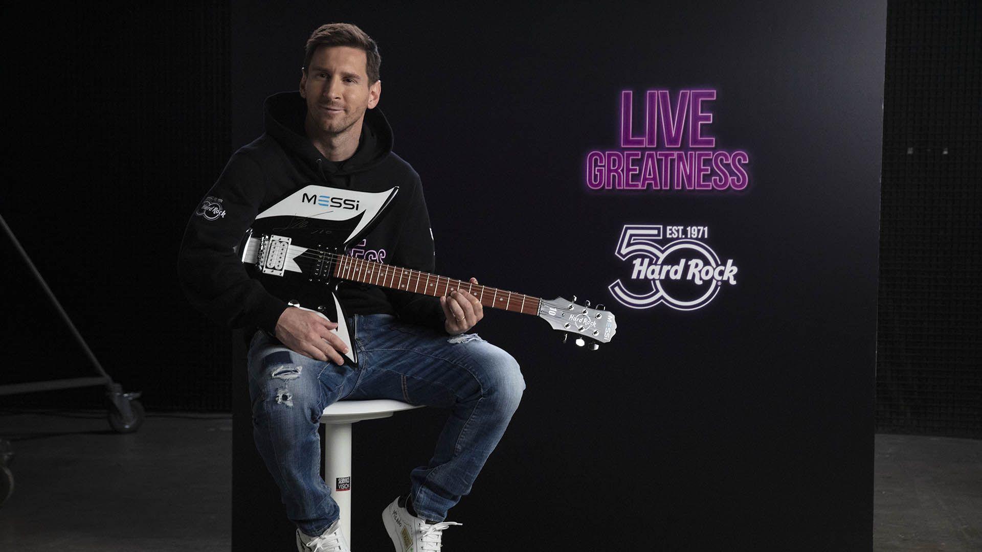 Messi Hard Rock