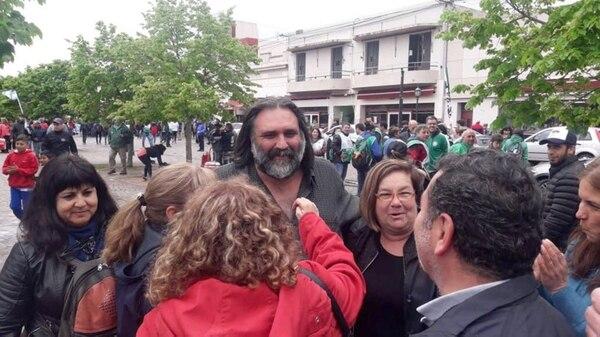 El sindicalista docente Roberto Baradel