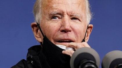 Joe Biden. REUTERS/Kevin Lamarque