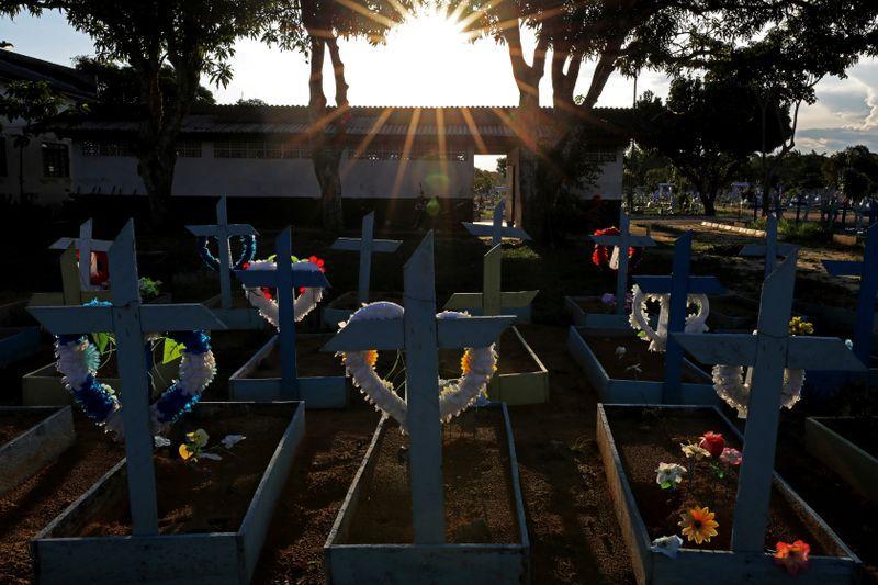 Más de 4 milones de personas han fallecido en el mundo por COVID-19. Expertos dicen que el fraccionamiento de dosis se justifica para evitar más muertes/ REUTERS/Bruno Kelly