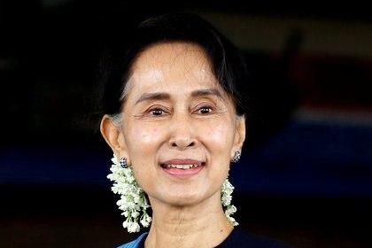 Aung San Suu Kyi REUTERS/Soe Zeya Tun/File Photo