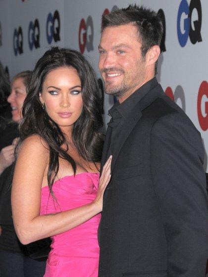 Megan Fox y Brian Austin se conocieron en 2004 en una serie de televisión (Shutterstock)
