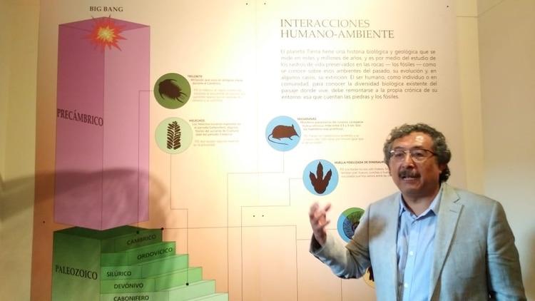 Eduardo Corona investigador del Instituto Nacional de Antropología e Historia (Foto: Patricia Juárez / Infobae México)