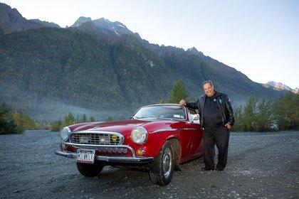 Irv Gordon tuvo el Volvo desde que lo compró, en 1966, hasta que murió, en 2018.