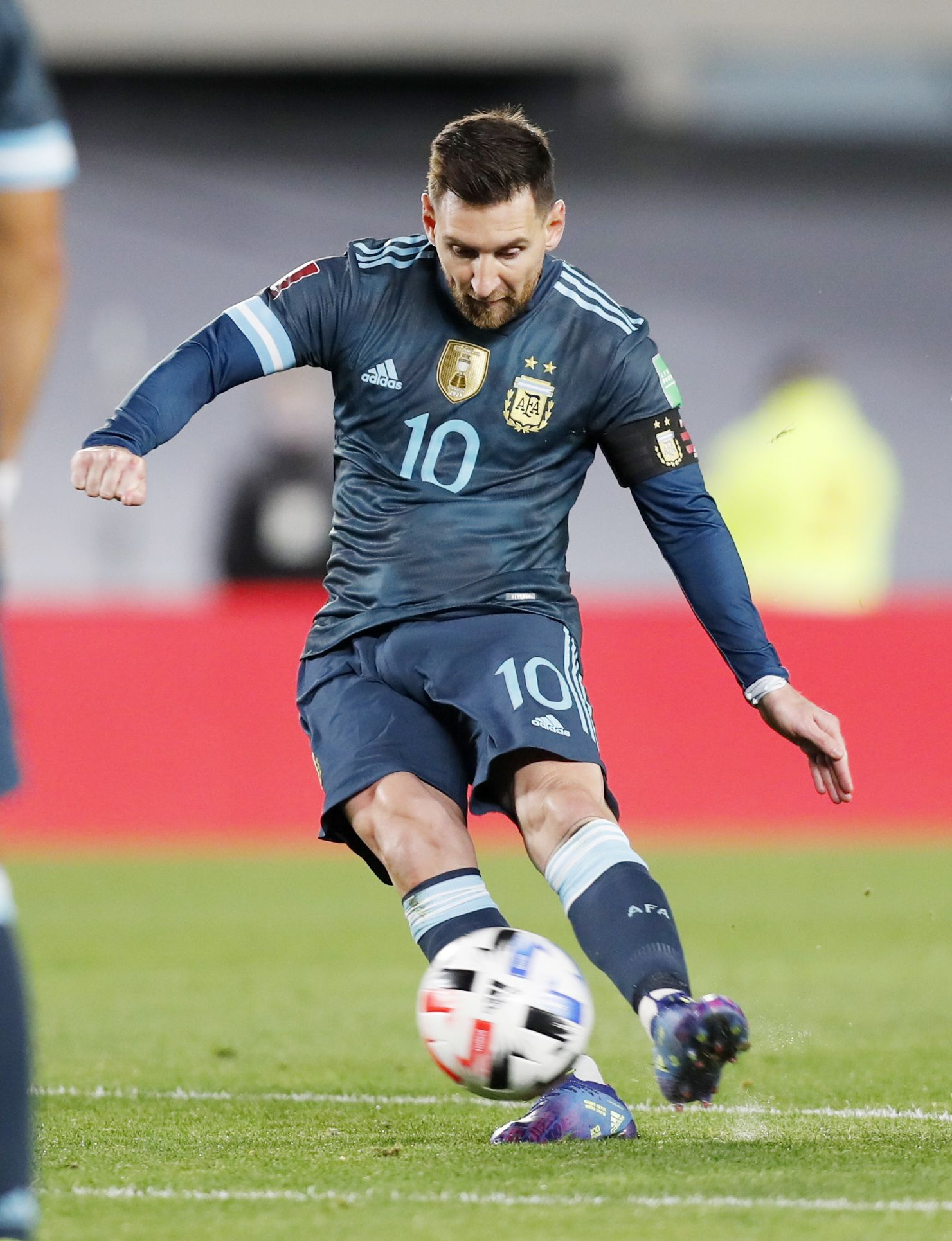Lionel Messi no pudo quebrar un récord negativo y sigue sin poder convertirle a Perú en las Eliminatorias