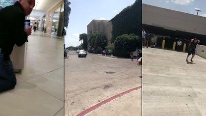 Masiva respuesta policial en un centro comercial de Texas luego de reportes iniciales de un pistolero activo
