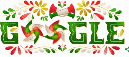 Google conmemora la Independencia de México desde 2005 (Foto: Google)