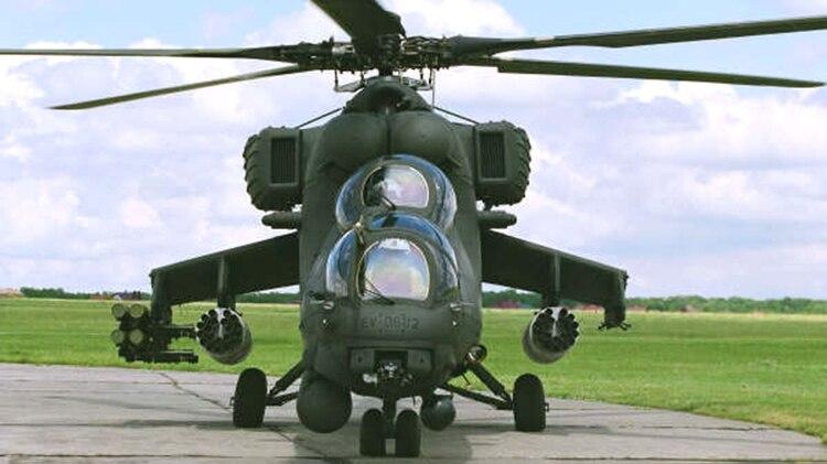 """Un Mil Mi-32M2 """"Caribe"""" operado por Venezuela"""