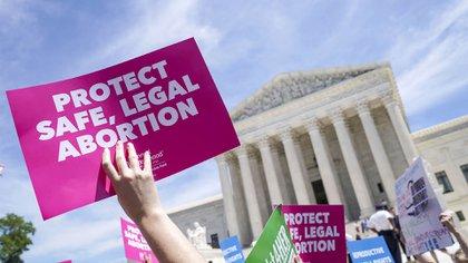 Protesta en defensa del aborto en EEUU (Shutterstock)