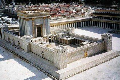 Maqueta del Templo de Jerusalén