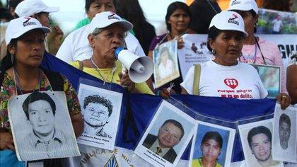 Caravana de Madres Centramericanas, el movimiento que reclama por sus hijos desaparecidos en México (EFE)