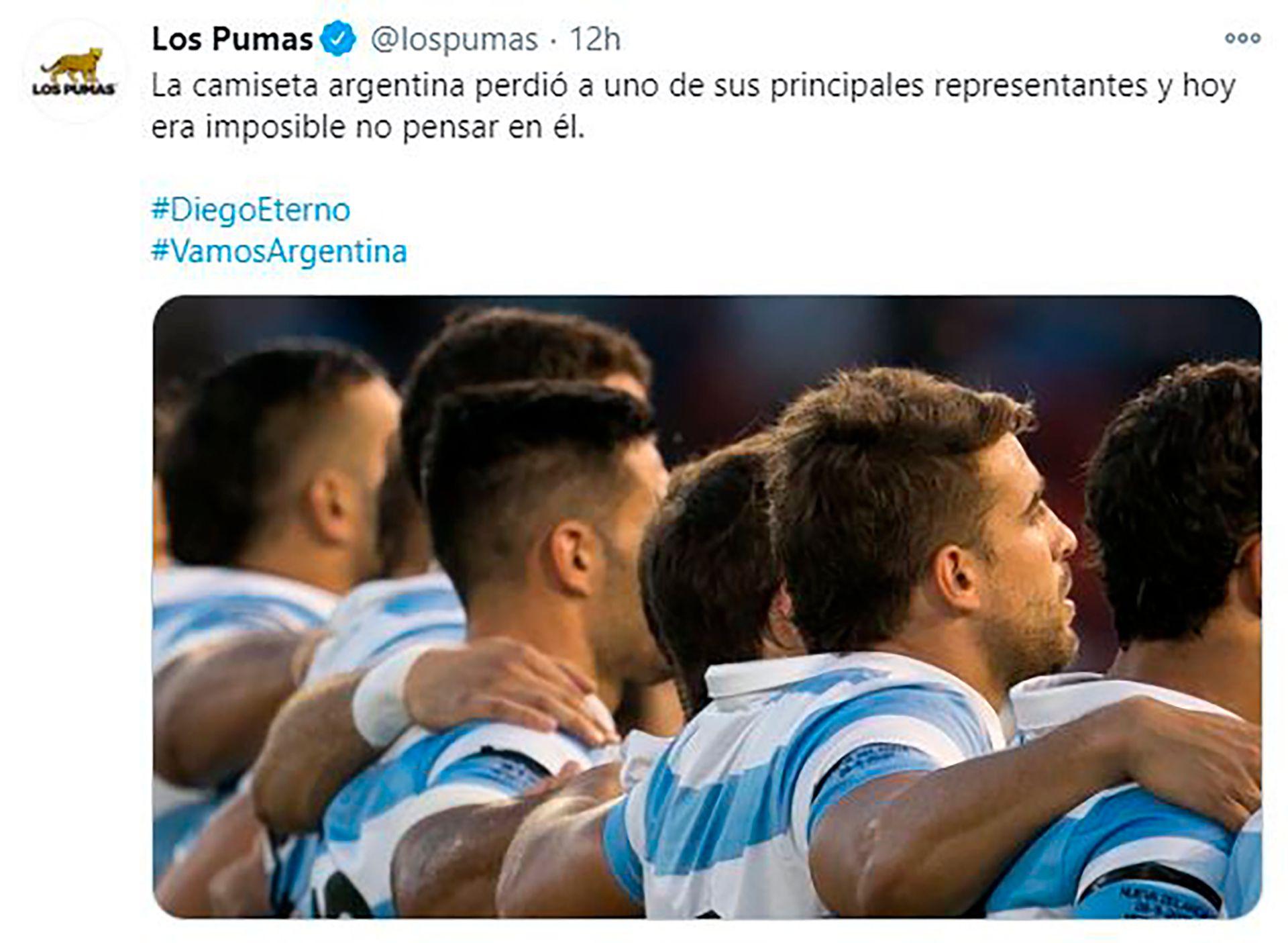 Las criticas a Los Pumas en redes sociales