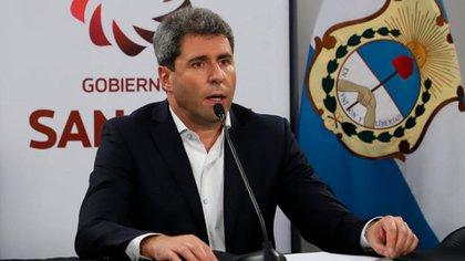 Le gouverneur de San Juan, Sergio Uñac.