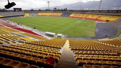 Vista del estadio de fúbtol Nemesio Camacho El Campín en Bogotá (Colombia). EFE/Leonardo Muñoz/Archivo