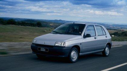 El Renault Clio I fue un ícono de la década del 90 (Renault)