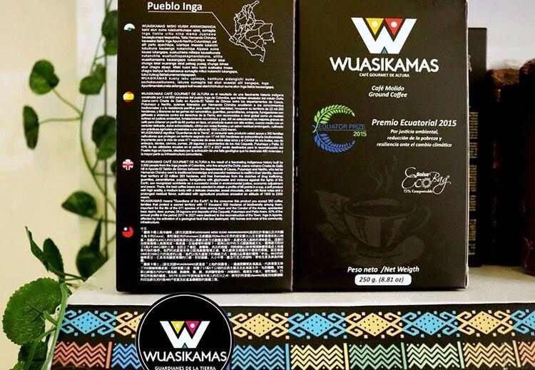 Ahora los inga producen uno de los mejores cafés de Colombia, de tipo exportación. (Foto cortesía Hernando Chindoy)