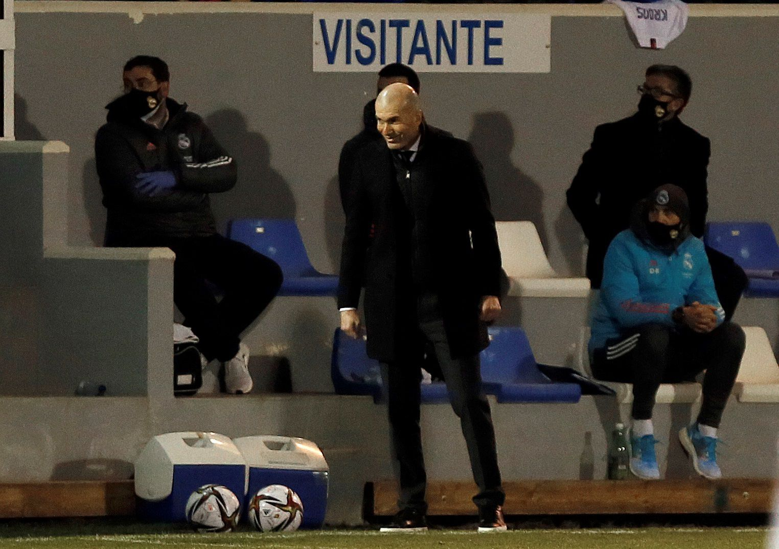 Zinedine Zidane tiene coronavirus (EFE/ Manuel Lorenzo)