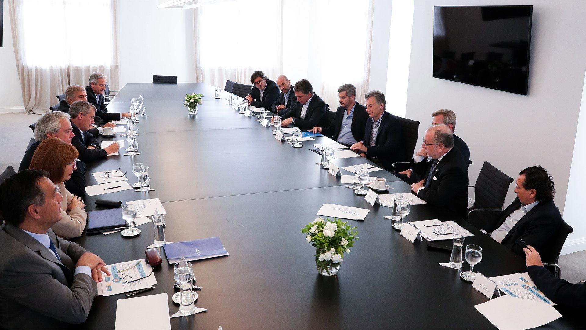 El Presidente reunirá a su gabinete en Olivos (Foto de archivo: Prensa Presidencia)