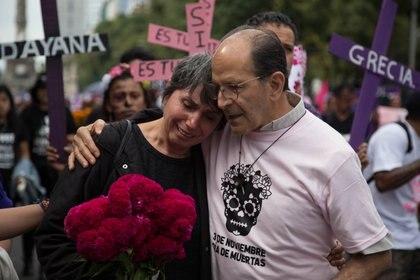 En el índice de feminicidios por cada 100,000 habitantes, la Ciudad de México se encuentra en el lugar 22 de las 32 entidades. (Foto: ILSE HUESCA /CUARTOSCURO)