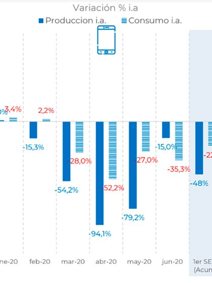 Fabricacin y venta de celulares de las terminales fueguinas