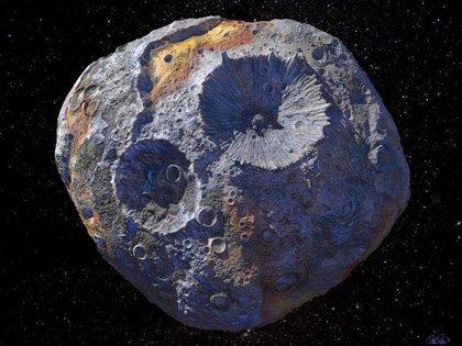 El asteroide Psyche (Europa Press)