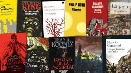 14 títulos sobre pandemias