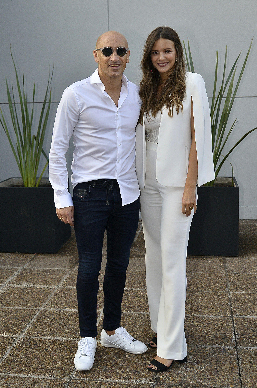 Rama Pantorotto y su novia Candela Zamarreñ