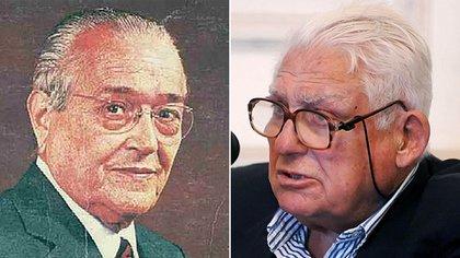 Ricardo Balbín y Albano Harguindeguy, protagonistas de un ríspido diálogo
