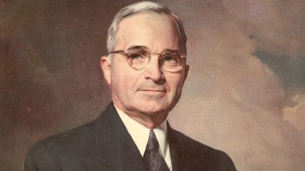 Harry Truman, presidente de Estados Unidos entre 1945 y 1953