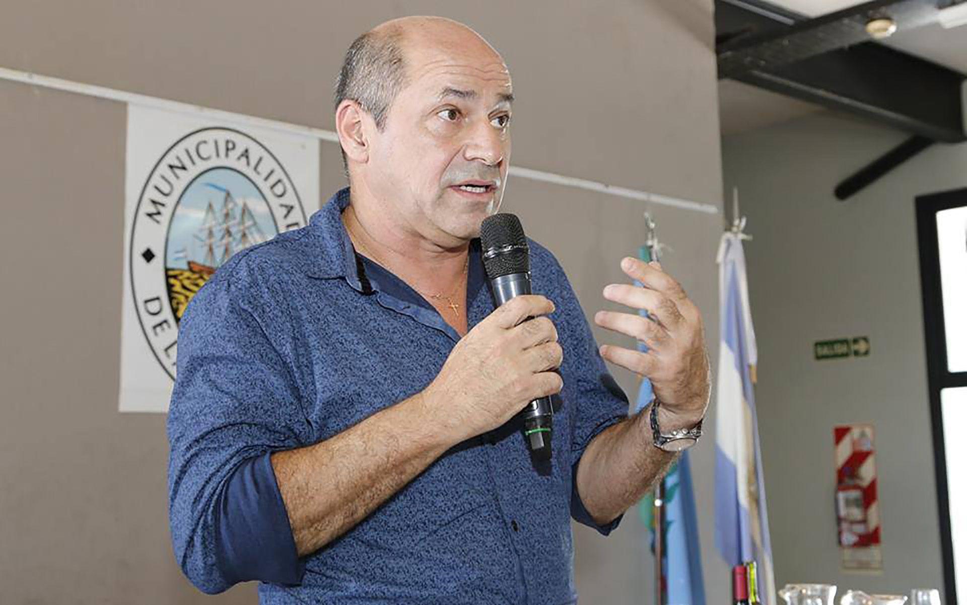 Mario Secco, intendente de Ensenada