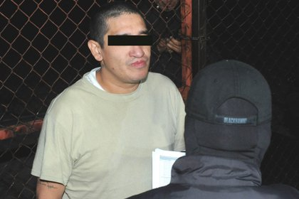 """Oscar Andrés, El Lunares, daba órdenes desde la cárcel a su hermano """"El Junior"""" (Foto: Luis Carbayo/Cuartoscuro/Archivo)"""