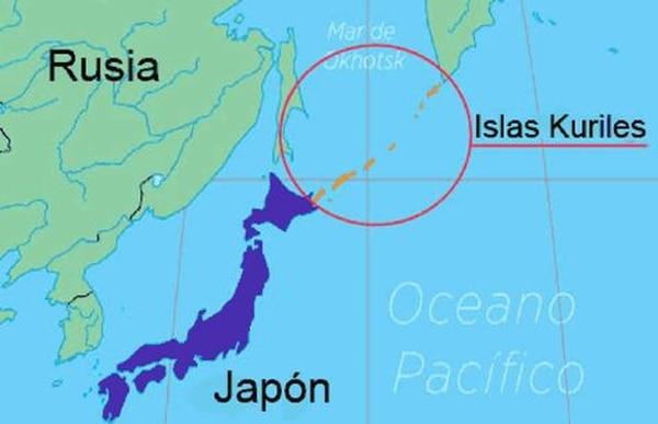 Rusia denomina a estos como Islas Kuriles (Foto: Especial)