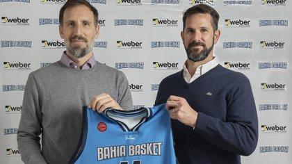 Pepe Sánchez es el presidente de Bahía Basket (Weber Bahía Basket)