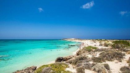 Praia de Elafonisi (IStock)