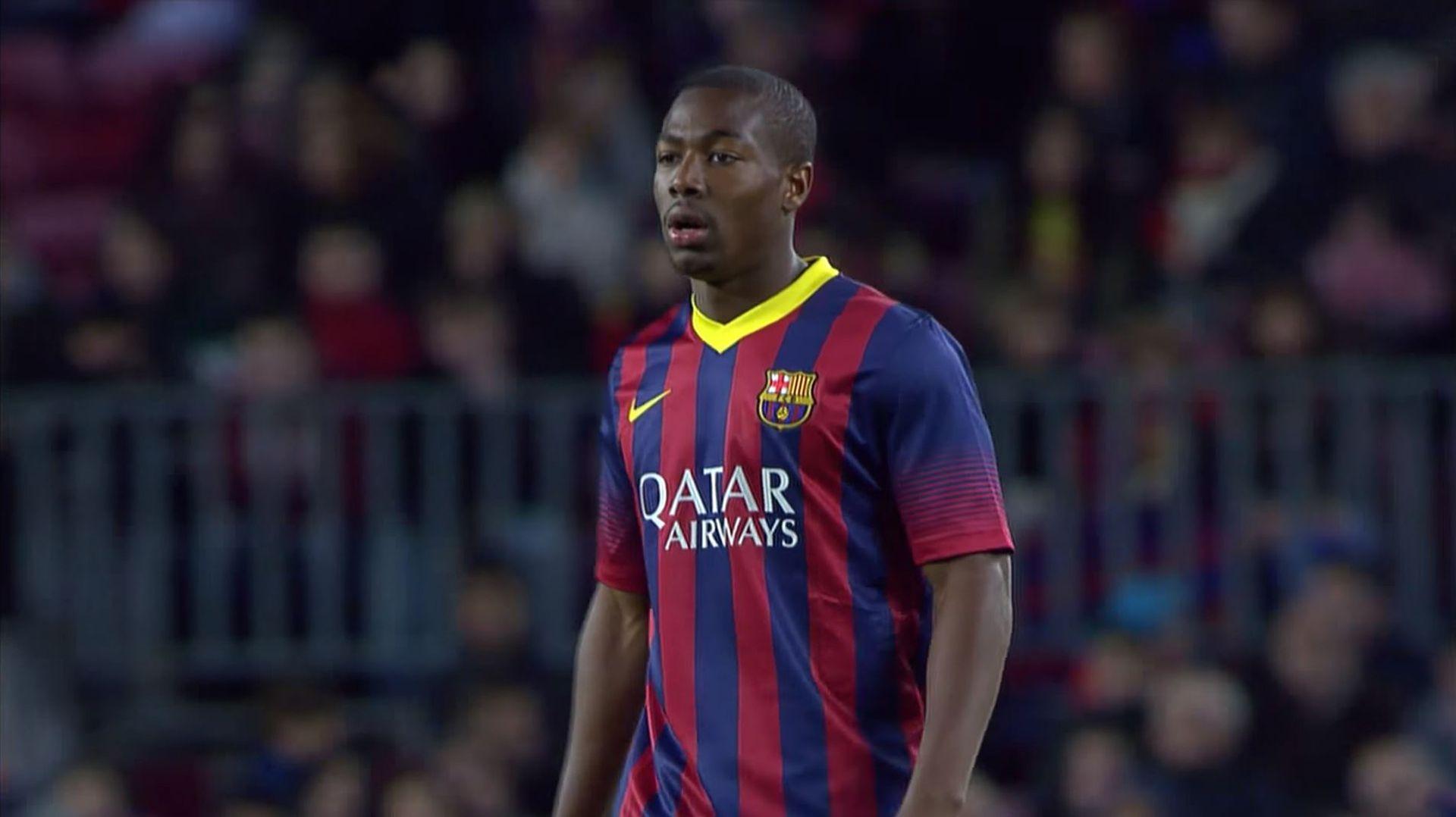 Así lucía Adama Traoré en el Barcelona