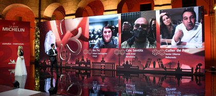 Fotos cedidas por Michelin de la gala de esta noche. EFE