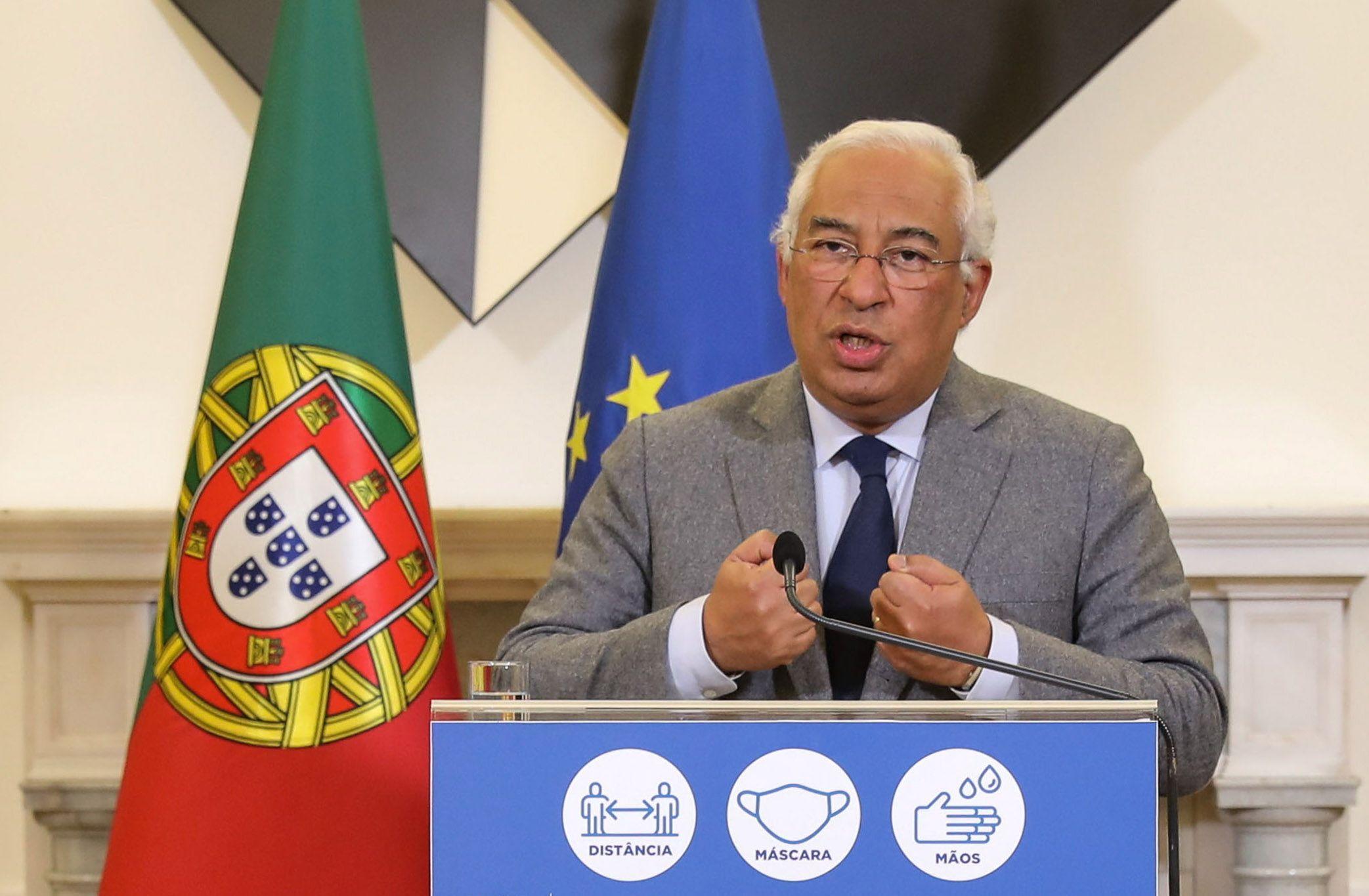 El primer ministro portugués, Antonio Costa. EFE/EPA/MIGUEL A. LOPES/Archivo